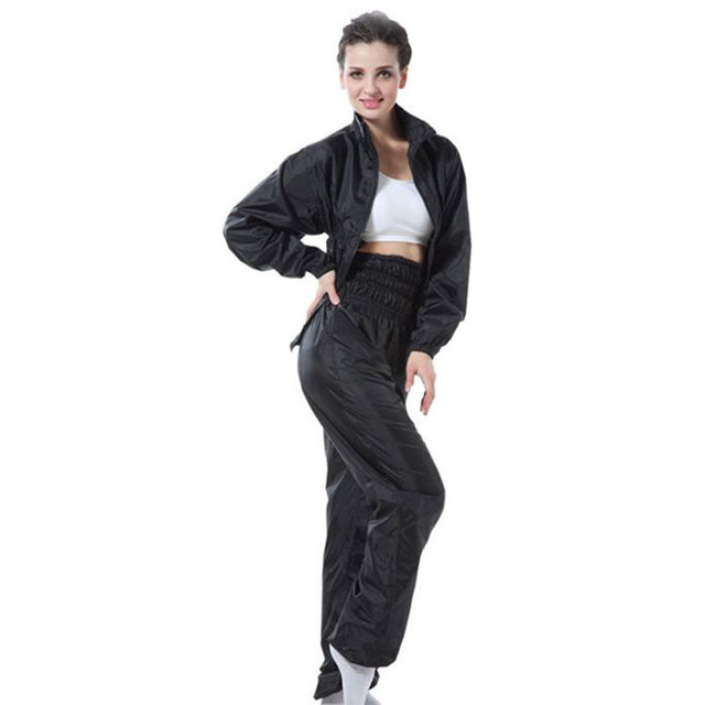 Aerobics Clothing Weight Loss Pants Slimming Suit Women Sauna Set Shirt Running Suits Sportwear Tracksuit