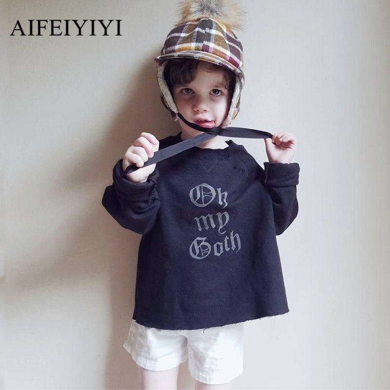 Childrens Clothing Sweatshirt Pullover Coats Boys Girls Baby Kids Autumn Winter Cartoon Long Sleeve O-neck Kids Outerwear a230