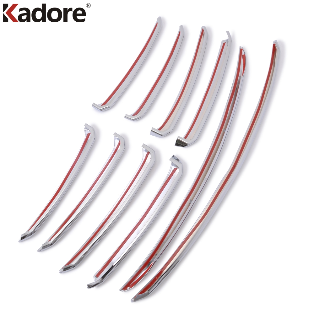 For Mazda 6 Atenza M6 2017 ABS Chrome Car Front Grille Cover Trim Molding Garnish Protector Sticker Exterior Accessories-in Chromium Styling from Automobiles & Motorcycles    2