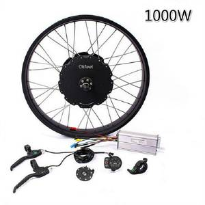 1000 W Fat bike Conversion kit for 26-28 inch Snowmobile Motor Cycling Electric