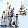 In magazzino 16008 Cenerentola Principessa Castello Città Modello Building Block Per Bambini Giocattoli 4080 Pcs Compatibile con Legoings Per Il Regalo Dei Bambini