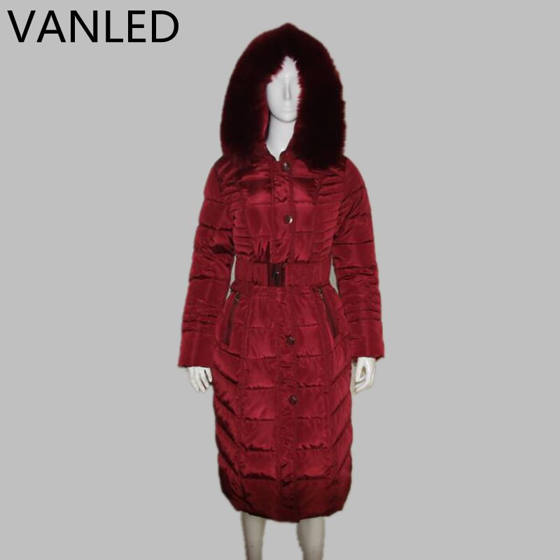 Sale Promotion Winter Middle - Aged Elderly Long Jacket Women Warm Winter Coat Thicker Mother Fitted Women Cotton Ouacoat 2017 60 year old 70 grandmother jacket in the elderly mothers installed women s winter 80 elderly lady down jacket