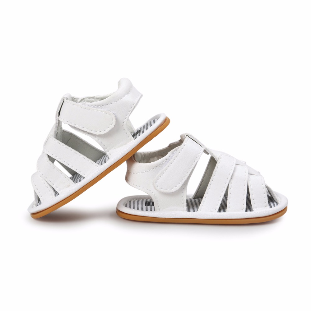 White-Color-Summer-Autumn-Newborn-Baby-Boy-Sandals-Clogs-Shoes-Casual-Breathable-Hollow-For-Kids-Children-Toddler-3