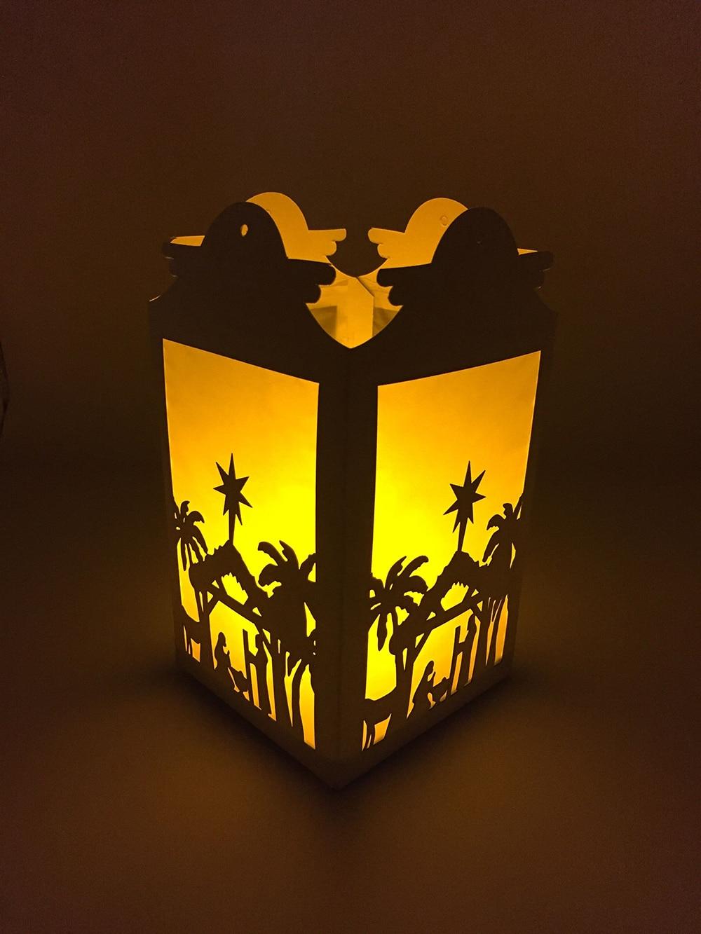 Bosheng Diy Paper Light Christmas Light Christmas