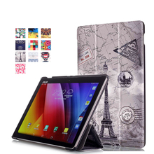 For Asus Zenpad 10 Z300CL Z300CG Z300C Z300 Z300CNL 10.1″ tablet Magnetic Stand Colorful pu leather Case cover+Screen film