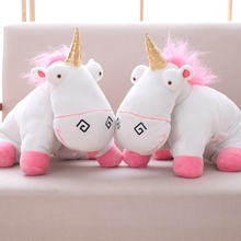 42cm Dual Purpose Despicable Me Agnes Doll Unicorn Plush Toy & Open As Playing Mat Or Cushion Pillow For Children