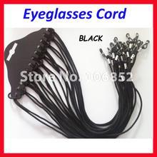 120pcs Black nylon eyeglasses cord spectacle sunglasses eyewear chain reading glasses holder GC-B
