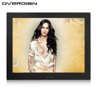 12 pulgadas/12.1 pulgadas monitorvga/HDMI/AV/BNC interfaz de metal de alta resolución Conchas incrustado Marcos industrial pantalla LCD de control