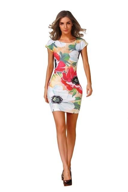 Aliexpress Buy Plus Size Women Elegant Printed Patchwork