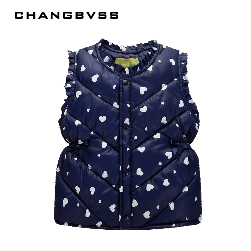 Multi-color Children's Clothing winter Outerwear Coats for Girl and Boys, Cute Baby Vest Kids Warm Jacket Vest Free Shipping 5cmx5m gray tc material reflecterende stof for jacket and vest free shipping