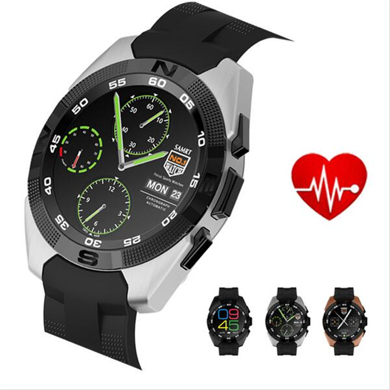 NO.1 G5 Smart Watch 128MB RAM 64MB ROM Heart Rate Monitor ...