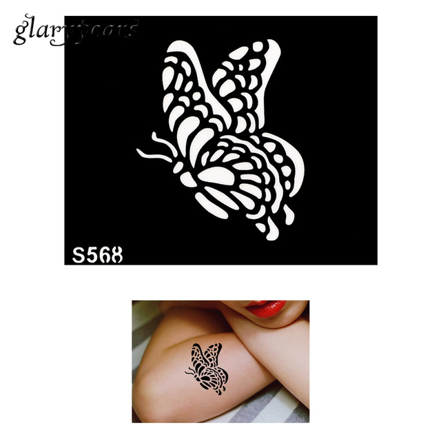 Aliexpress Com Beli Hot Sale 1 Piece Kecil Indian Henna Tattoo