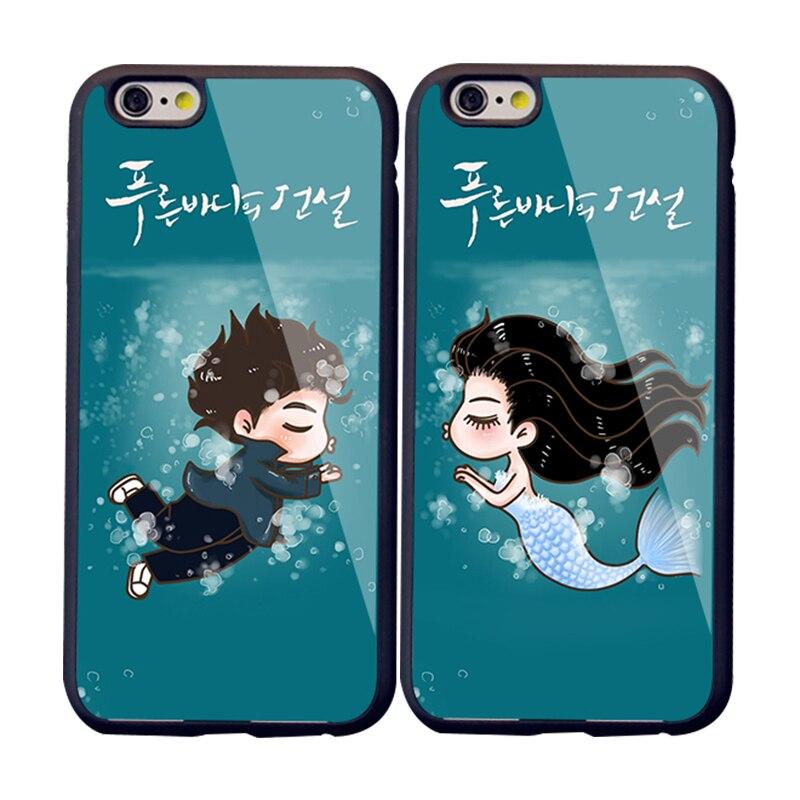 uk availability a3b8f 408ef Korean Cartoon Phone Case The Legend of Blue Sea Protective ...