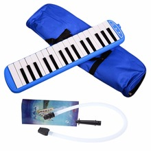 32 Piano Keys Blue Pink Melodica Musical Instrument for Music Lovers Beginners Gift with Carrying Bag Drop Shipping