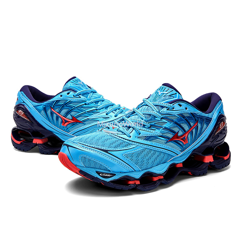Mizuno Wave Prophecy 8 Professional Breathable Cushioning Sport Basketball Shoes 8 colors Men Sneakers Free ShippingMizuno Wave Prophecy 8 Professional Breathable Cushioning Sport Basketball Shoes 8 colors Men Sneakers Free Shipping