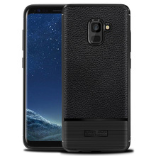 for samsung galaxy a7 2018 fitted shockproof back cover anti-skid anti-fingerprint silicone soft black tpu phone case for samsung galaxy a7 2018 fitted shockproof back cover anti skid anti fingerprint silicone soft black tpu phone case