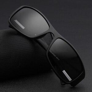 Image 2 - KDEAM Brand Mens Polarized Sunglasses TR90 Rectangle Coating Driving Glasses Sport Goggles Gafas De Sol KD111