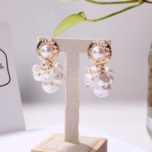 Fashion Pearl EArrings Major Brand Fast-selling and Hot-selling Alloy Ear Nails Imitate Geometry Classic Baitao Earrings