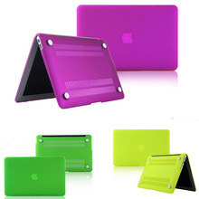 laptop case protector for mac book+ keyboard cover/matte four colors protective shell for macbook pro 12 13 retina Air 11 13