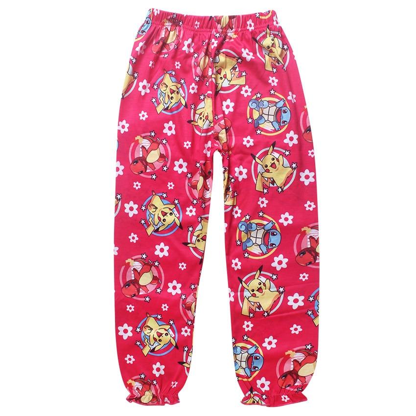 dcc79a5fb530 2017 Children Pokemon Pikachu Pajamas Suit Kids Girls Boys Sleeper ...