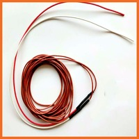24K 20M 135W 30C Infrared Heating Floor Heating Cable System Electric Ptfe Carbon Fiber Wire Floor Hotline piglet insulation bo