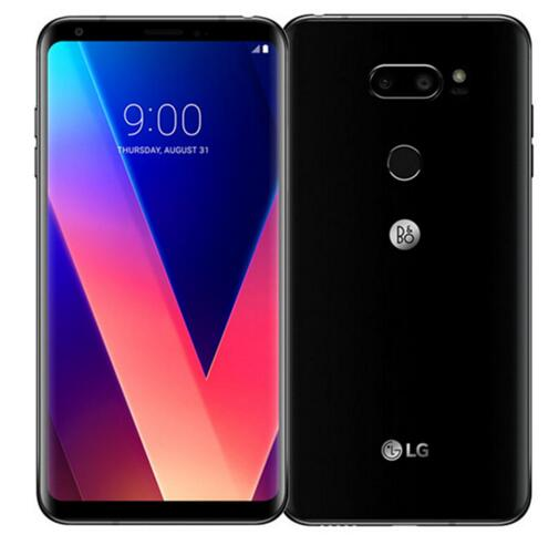 """Разблокированный LG V30 6,"""" Qualcomm835 4 Гб ОЗУ 64 Гб/128 Гб ПЗУ двойная задняя камера(без иврита/польского языка - Цвет: Черный"""