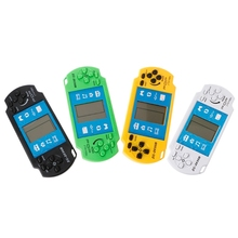 New Kids Classical LCD Electronic Gaming Machine Handheld Tetris Brick Game Console Random Color