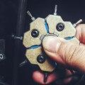 1 шт. Lucky четырехлистная трава титановая Отвертка из сплава комбинированный набор EDC инструмент декомпрессионная Гироскопическая игрушка м...