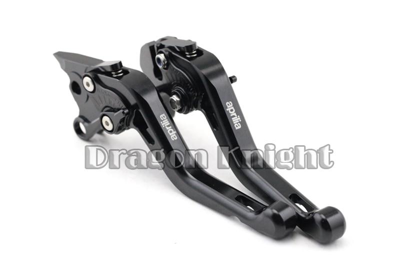 Motocycle Accessories For Aprilia TUONO V4R 11-14 Short Brake Clutch Levers Black motocycle accessories for honda cb600f cb900f cbf600 short brake clutch levers black