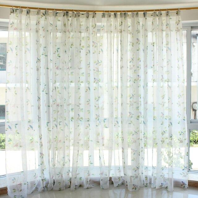 2016 visillos cortinas rustieke gordijnen slaapkamer 3d gordijnen ...