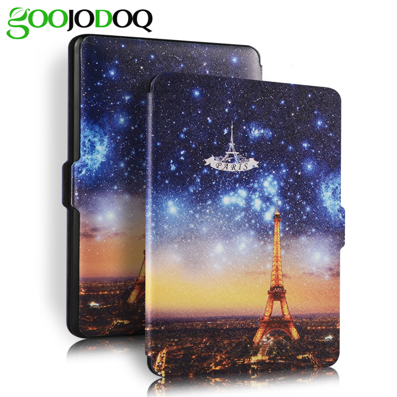For Kindle Voyage Case,Light Weight PU Leather Smart Cover Shell Coque for Amazon Kindle  2014 E-book Reader Auto Wake Up/Sleep for amazon kindle paperwhite1 2 3 case shell pu leather smart cover fit for kindle paperwhite [auto wake up sleep function]