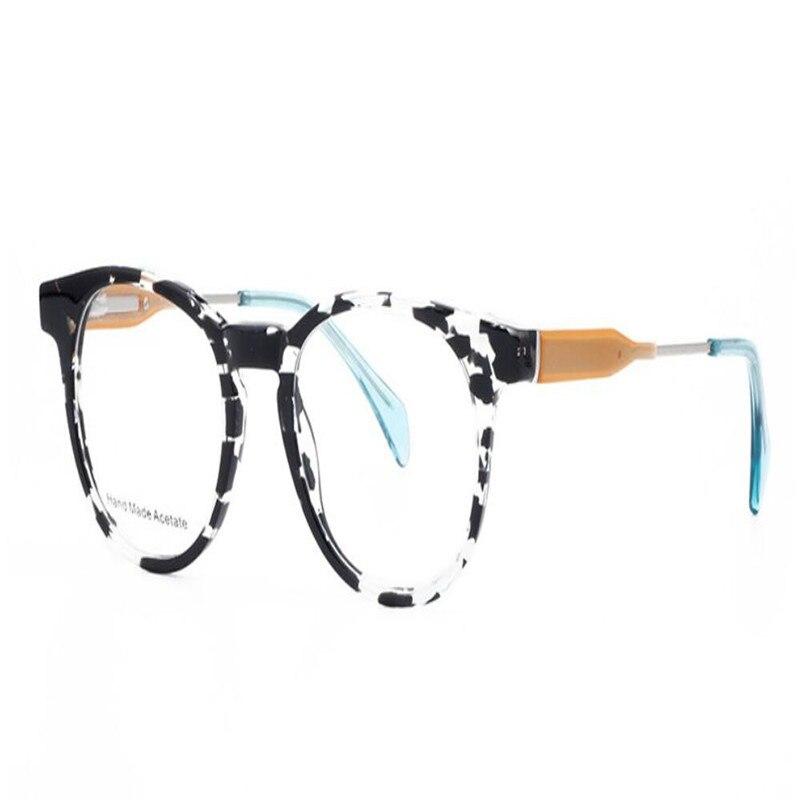 Retro Mode Runde Der Progressive Rahmen Von brennweite Lesen Mongoten Acetat Vollrand Nähe Weit Multi Unisex Sehen In Brillen pBdnqxwf