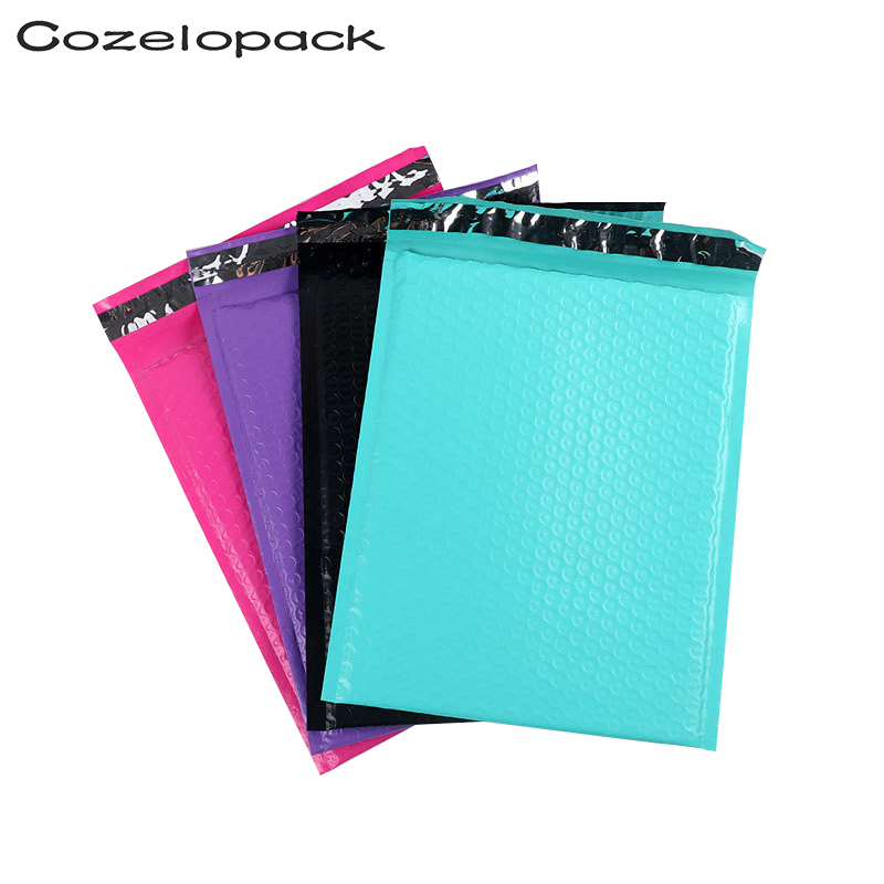 10PCS #2 8.5x11 23.6x28cm Color Poly Bubble Mailer Padded Envelopes Self Seal Mailing Bag Bubble Envelope Shipping Envelopes