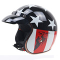 New Arrival Motorcycle Harley Helmet Retro Visor Moto Casque Vintage Electric Motorbike Open Face Dot Helmets For Women Men