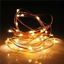 Новогодняя Рождественская гирлянда водонепроницаемая светодиодная