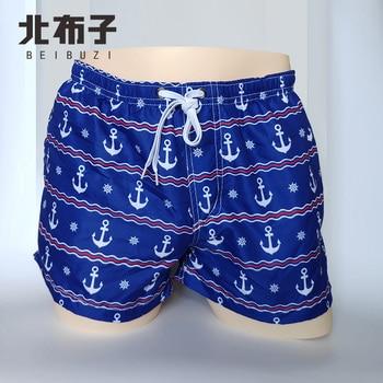 New Brand BEIBUZI 2019 Mens Board Shorts and Quick Drying Beach Casual Summer Short Pants free shiping