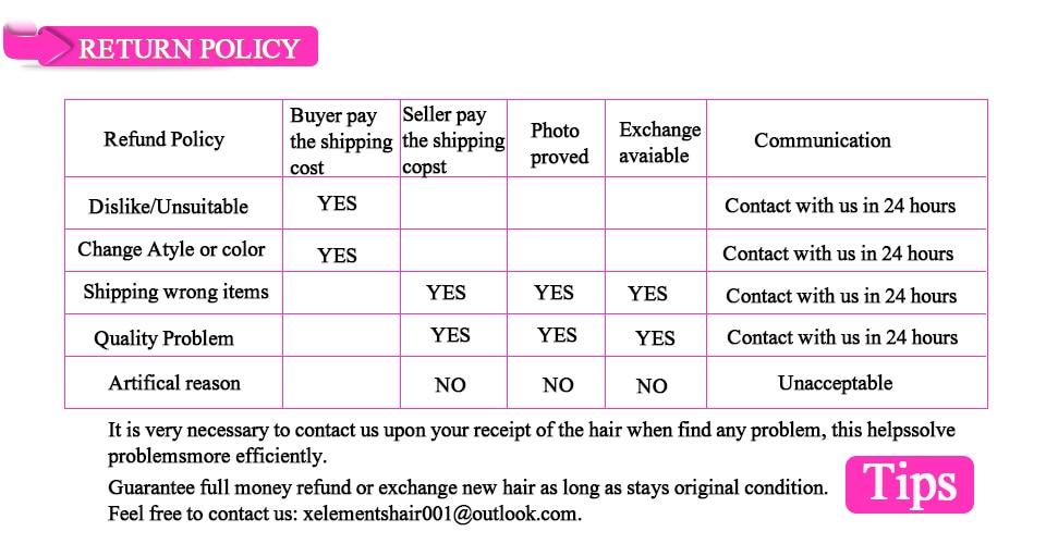 X-Elements Human Hair Bundles Body Wave 1 Bundles Non-Remy Peruvian Hair Weaves Natural Color 8-26 Hair Extensions (6)