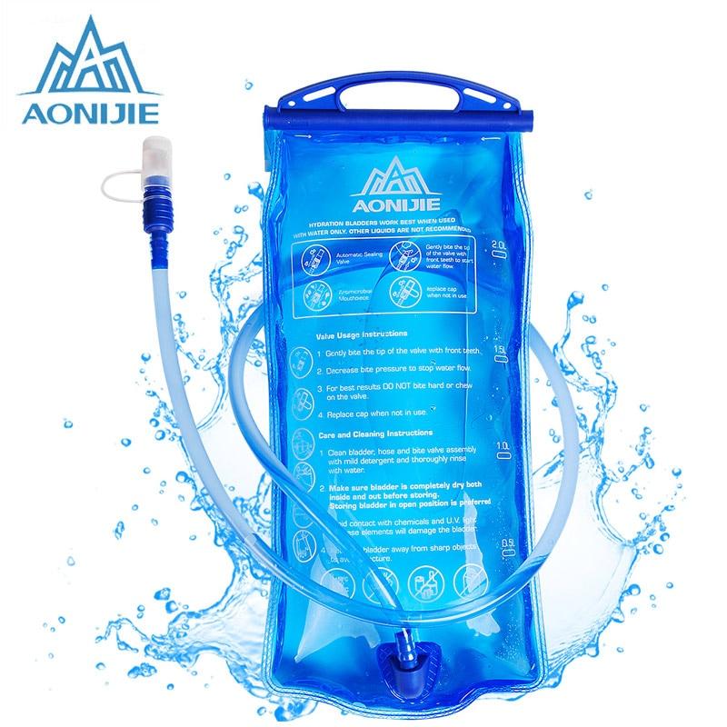 AONIJIR 1L-3L hidratacija modra kolesa v ustih mehurček vrečka na - Kampiranje in pohodništvo
