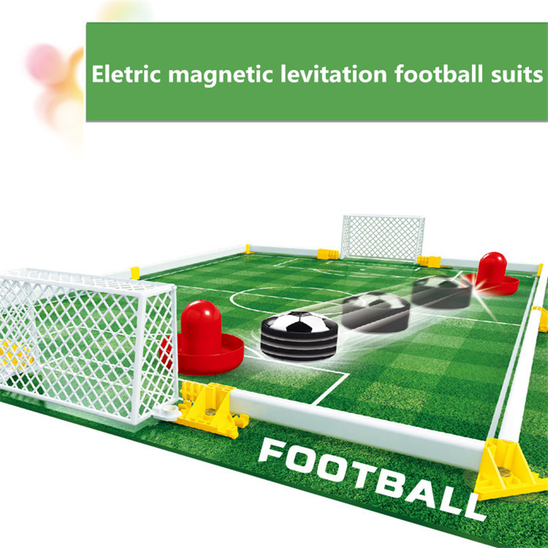 Childrens board Game Desktop Toys Gadget Toys LED Air Power Soccer Hockey Eletric magnetic Indoor Interactive Toy Kids Gift #E