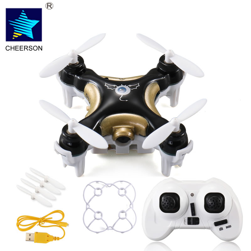 Cheerson CX-10C Quacopter Drone with Camera RC Hexacopter Professional Drones Micro Dron Remote Control Mini Multicopter