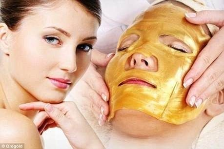 24K GOLD Active Face Mask Powder Brightening Luxury Spa Anti Aging Wrinkle 24K Gold Mask Powder Treatment Facial Mask 300G 12