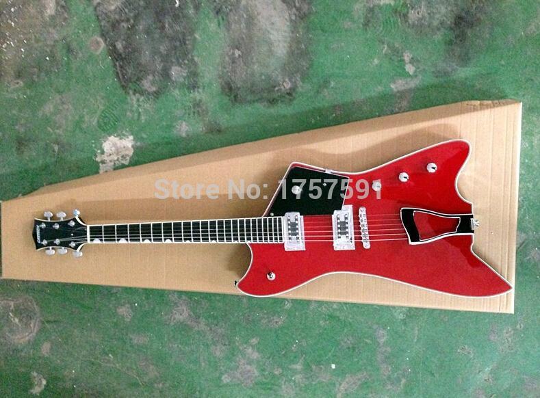 wholesale&Retail top quality factory custom G6199 Billy-Bo Jupiter Gretsch large rocker Red electric guitar