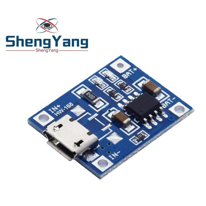 5 V 1A 18650 TP4056 литиевый модуль зарядного устройства аккумулятора зарядная плата с защитой двойные функции 1A li-ion