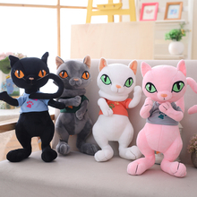 30cm/40cm Stuffed Simulation Cats Plush Active joint Lovely Toy Animal Children Kids Birthday Christmas Gifts