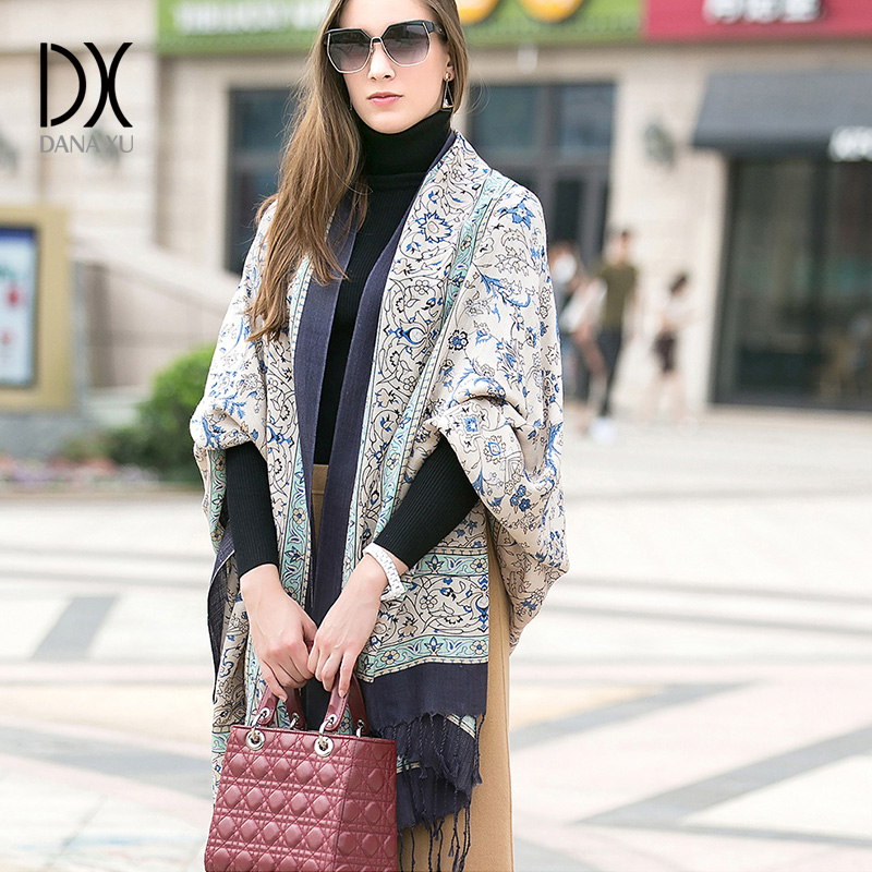 Image 4 - 2019 Fashion Warm Winter Scarf For Women Scarf Luxury Brand Cashmere Large Scarf WrapWomen Blanket Pashmina Shawl Muslim Hijab-in Women's Scarves from Apparel Accessories