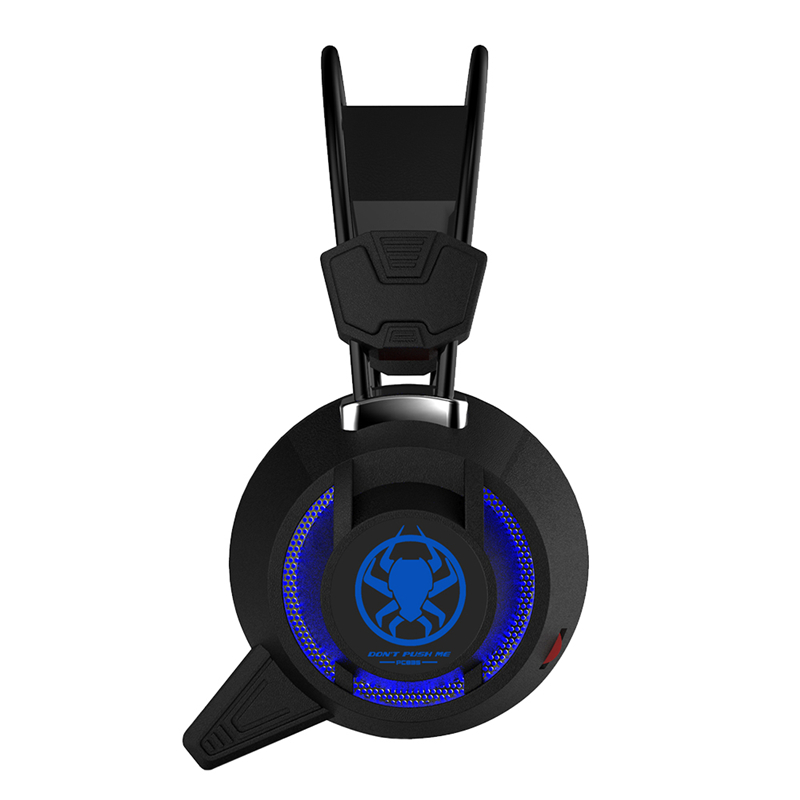 TTLIFE Wired Headphones PC835 Heavy Bass Headset Black White Big Gaming HIFI Headphone With Mic for Computer PS4 Internet Bar
