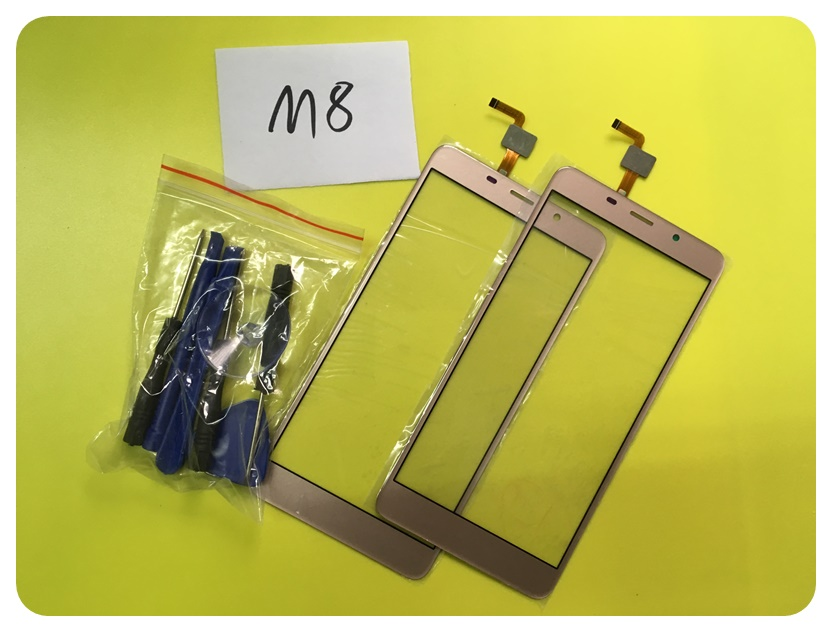 M8 Sensor Phone Replacement Parts For Leagoo M8 Touch Screen Digitizer Glass Panel Tools ; With Tracking Number