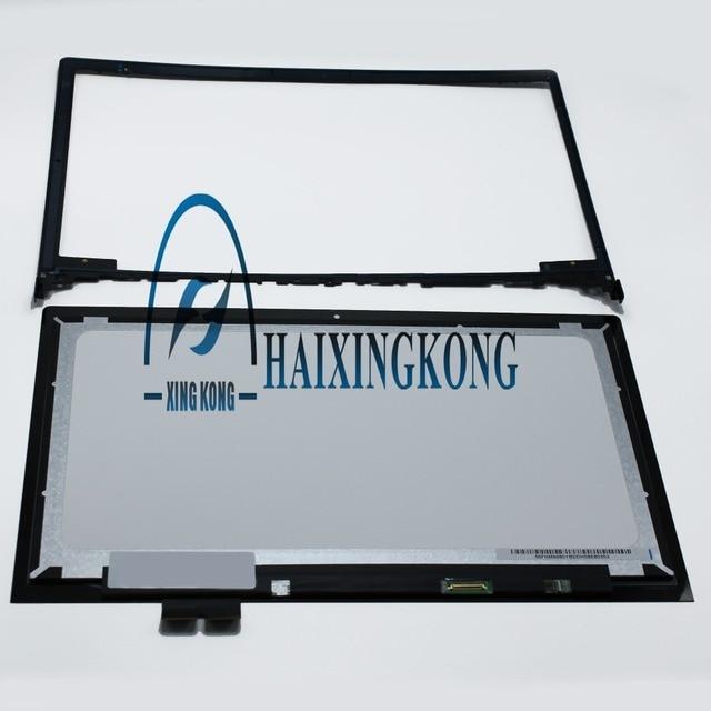 """(1920x1080) 15.6 """"Сенсорный ЖК-Экран Ассамблея Для Lenovo Flex 2 15 с Наружной Рамы"""