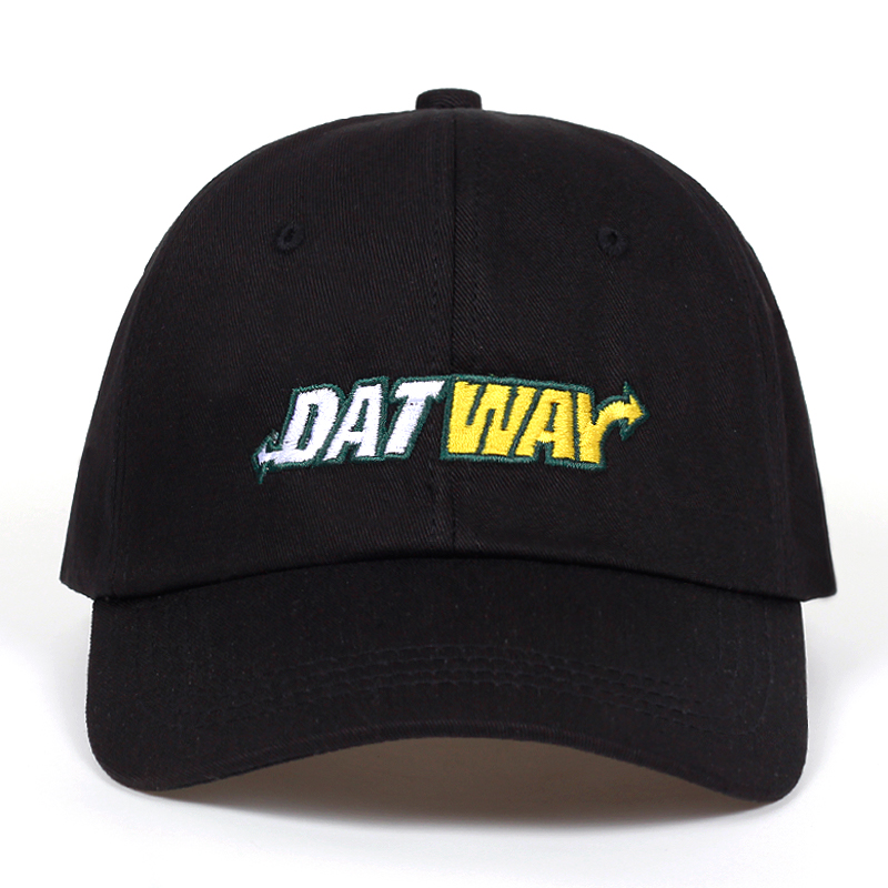 2018 new High Quality Cotton DAT WAY Letter Snapback   Cap   For Men Women Hip Hop Dad Hat   Baseball     Cap   Bone Garros