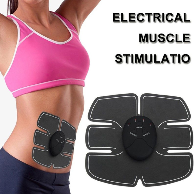 Abdominal health EMS Muscle Stimulator Hip nutrition Trainer  toner Slimming Body Massager electric Belt  Machine  Exerciser